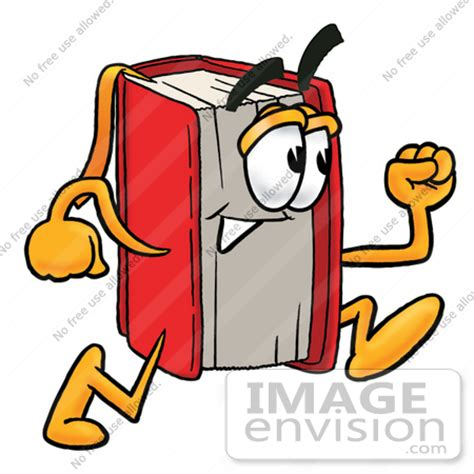 running in the books book character clipart clipart suggest