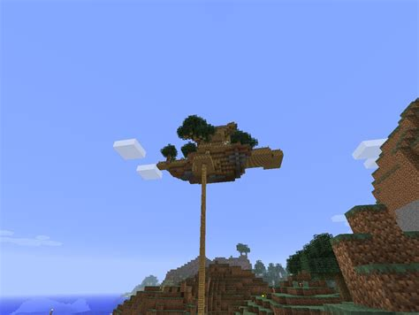 best seed floating islands floating island seed minecraft project