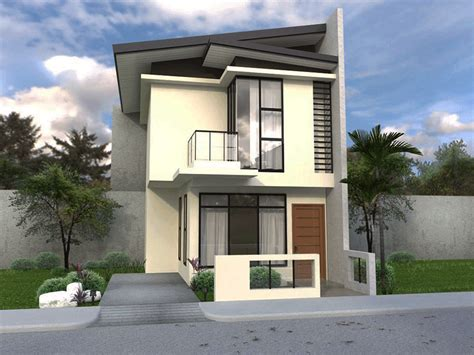 Small Two Story House Plans Narrow Lot by Collection 50 Beautiful Narrow House Design For A 2 Story