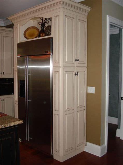 refrigerator cabinets design pictures remodel