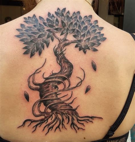 tatouage de laurentg arbre