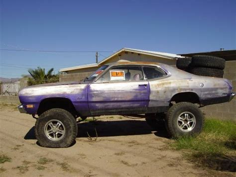 bangshiftcom rough start   plymouth duster trar