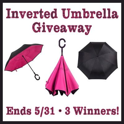 Umbrella Giveaways - game on mom