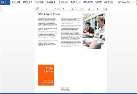 Professional Newsletter Template For Word Professional Newsletter Templates