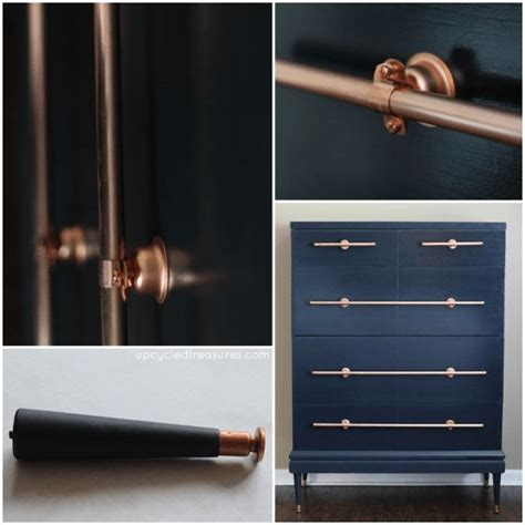 diy copper drawer pulls 34 best images about copper shelf on copper