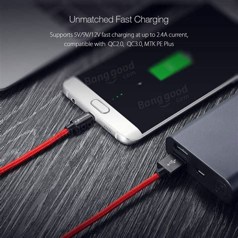 Promo 4 In 1 Kabel Charger Model Roll 1 Meter blitzwolf 174 bw mc3 2 4a micro usb braided charging data cable 8 2ft 2 5m with magic