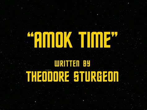 ahok time space doubt amok time