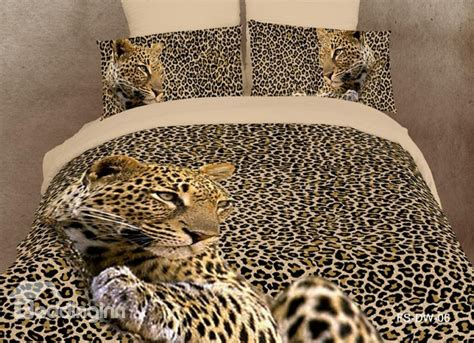 leopard print bedding amazing leopard print 4 piece bedding sets duvet cover