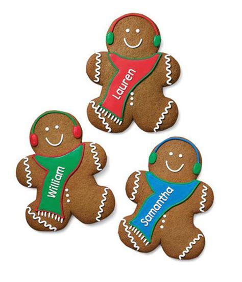 Fendi Home Decor Williams Sonoma Personalized Gingerbread Boy Cookies