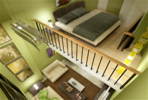 one bedroom loft eton emerald condominium ortigas