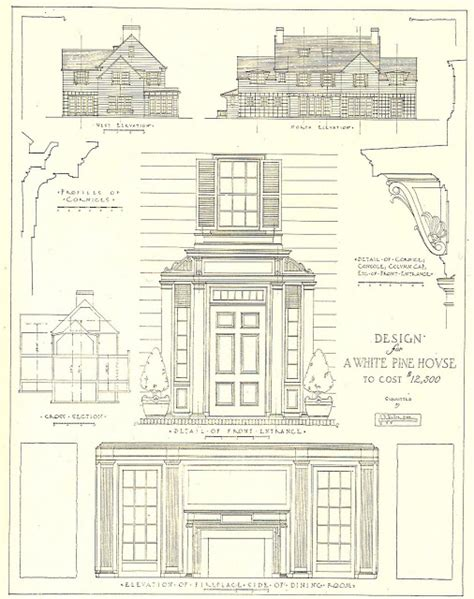 mr blandings dream house floor plans architectural plans for a mr blandings type dream house