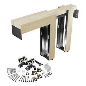 Door Kit by Primeline 174 Hardware Universal Pocket Door Frame Kit