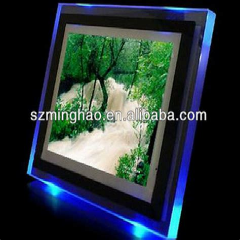 Bild Mit Led Hintergrundbeleuchtung by Acryl Mit Led Hintergrundbeleuchtung Bilderrahmen Frame