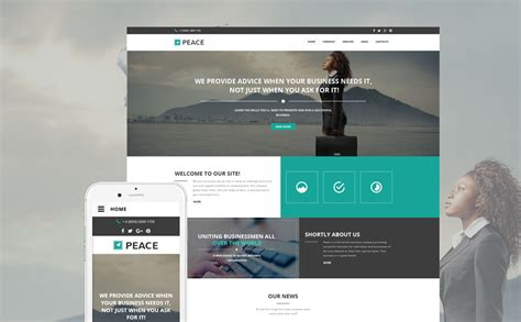 Business Responsive Website Template 57549 Firm Responsive Website Template