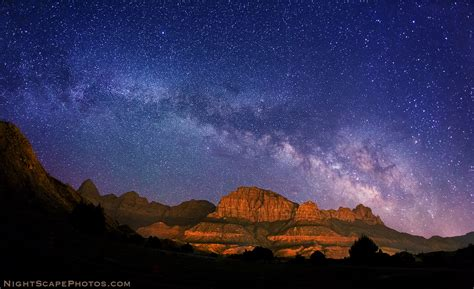paint nite utah coupon way zion national park this nightscape