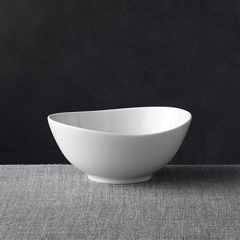 Small Bowl Swoop Small Bowl Crate And Barrel