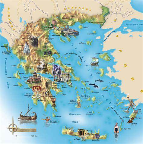 map of greece islands greece map map of greece and islands