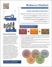 Resume Portfolio Sles by Award Winning Executive Resume Exles