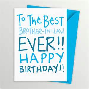 birthday card for brother in law by a is for alphabet