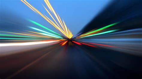 How Fast Does Light Move by How Fast Things Travel Compared To The Speed Of Light