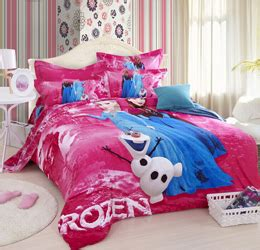frozen queen bedding 3d frozen purple princess elsa anna olaf christmas