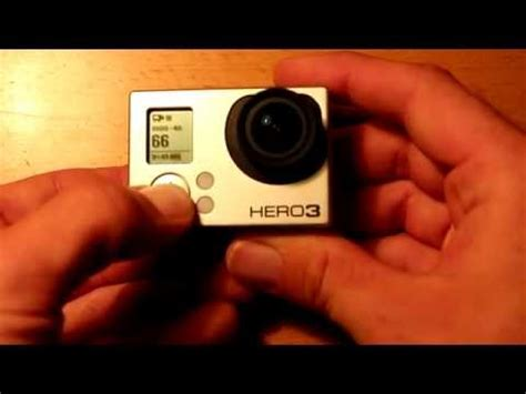 resetting wifi hero 3 howto hard reset gopro hero 3 and 3 cameras youtube