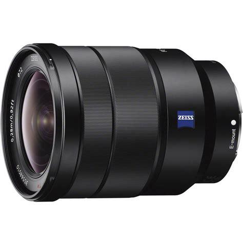Sony Lens Sel Fe 35mm F sony vario tessar t fe 16 35mm f 4 za oss lens sel1635z b h