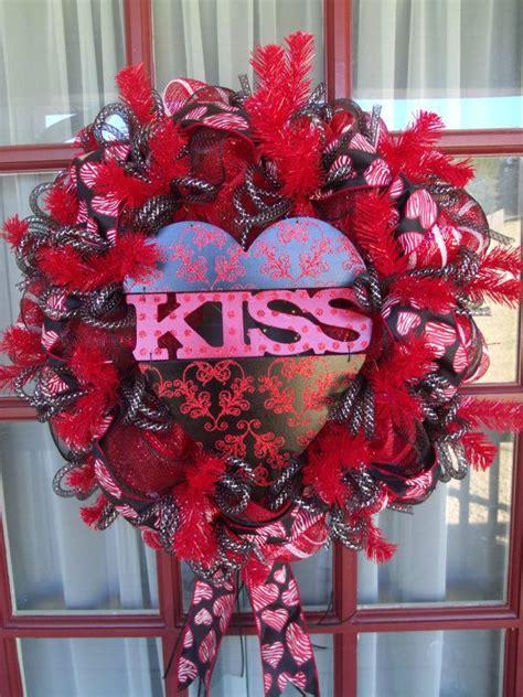 s day door wreaths s day deco mesh door wreath