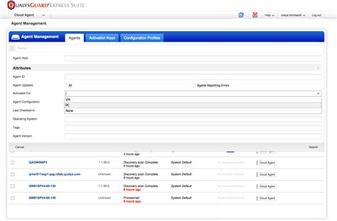 Management Search Qualys Cloud 1 3 New Features Qualys