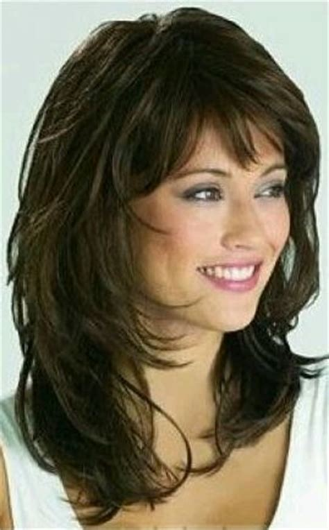 hair shoulder length feathered high crown 17 best images about great hair layered cuts how to
