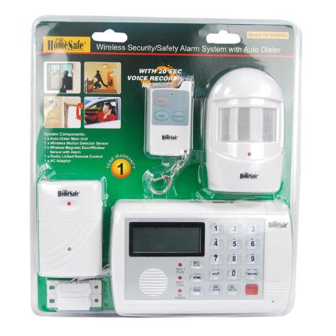 homesafe wireless home security system priority personal