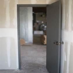 Interior Steel Door Flush Commercial Hollow Metal Doors Industrial Steel Doors
