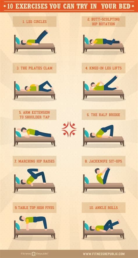 bed workout best 25 bed workout ideas on pinterest exercise in bed