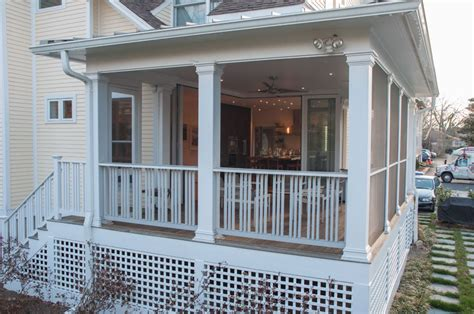 indoor enclosed back porch design back porch design for