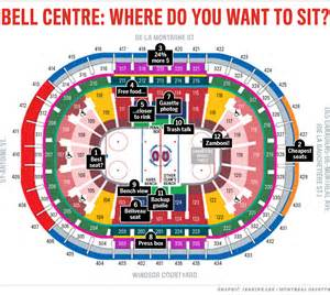 Bell Center Floor Plan 0911 Web Bell Centre Seats New2