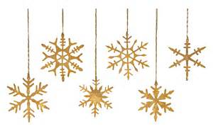 Hanging Candle Chandeliers Gold Snowflake Ornaments Jayson Home