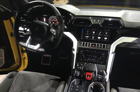 lamborghini jeep interior lamborghini urus at goodwood 641bhp suv shown in
