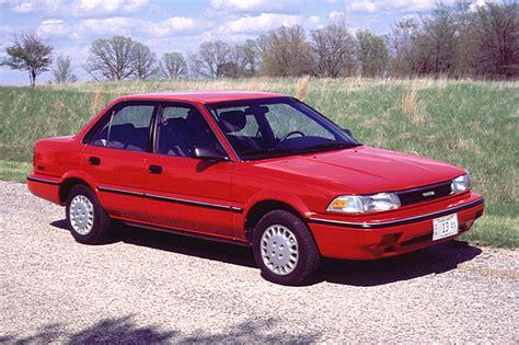Toyota Corrolla 1990 1990 92 Toyota Corolla Consumer Guide Auto