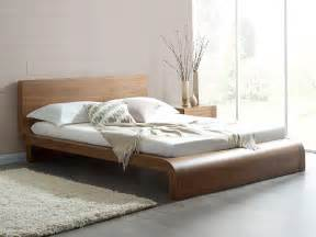 roma walnut contemporary bed modern bedroom