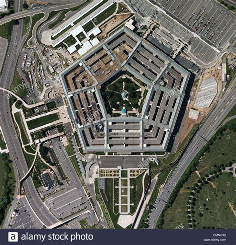 Photo Op The Pentagon by Aerial Photograph Pentagon Arlington Virginia Stock