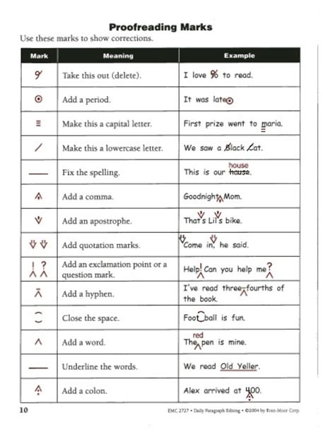 Evan Moor Corp Worksheets by Sentence Editing 3rd Grade 1000 Ideas About Daily