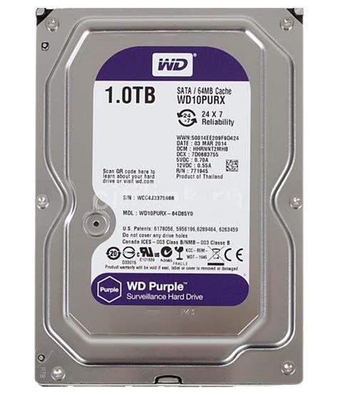 Harddisk Drive 1 Tb western digital wd10purx 1 tb drive