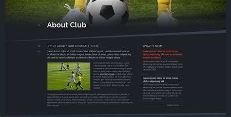 soccer bootstrap theme football website templates gridgum