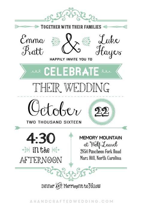 Best 25 Free Wedding Templates Ideas On Pinterest Wedding Program Templates Free Wedding Mint Green Wedding Invitation Template