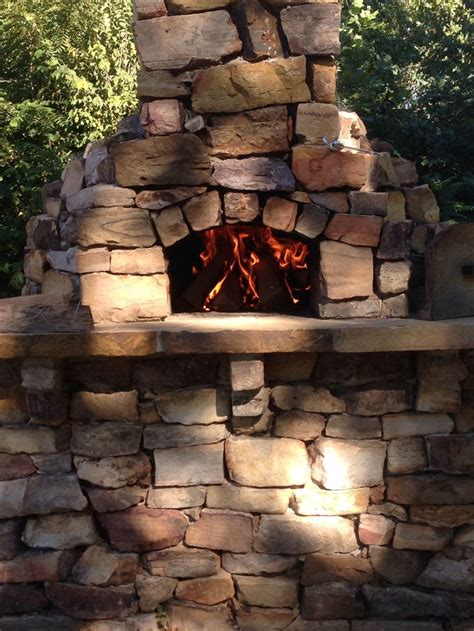 stacked pizza oven built by lord brothers