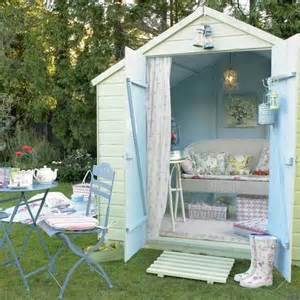 pretty outdoor living space garden shed cool