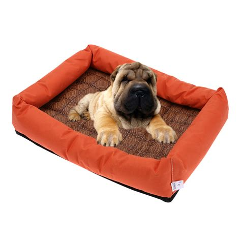 buy dog bed pet cool gel mat dog cat bed non toxic cooling dog summer