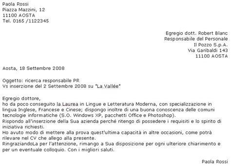 lettere di presentazione aziendale esempio l artigiano di babele lettera di presentazione qualche