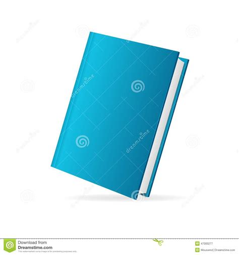 vector book cover blue perspective stock vector image