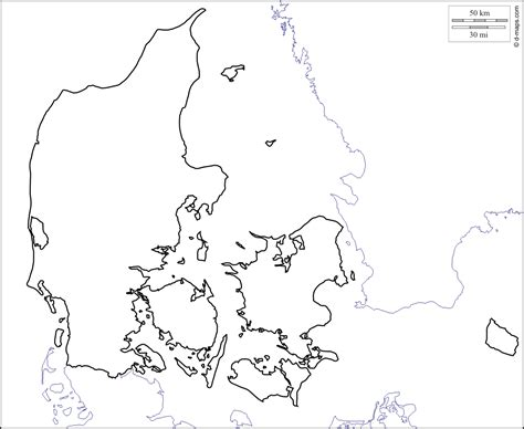denmark map coloring page outline map of denmark printable with printable outline of